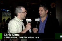 Chris Dima Talks with John Biggs of TechCrunch about Hyper Local and TalkFavorites.me