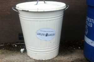 Sometimes It Does Make Sense To Advertise Your Business On Your Garbage Can