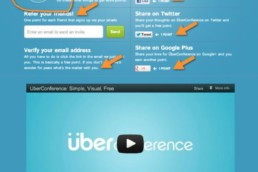 Uberconference's Beta Invitation Gamification
